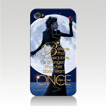Once Upon A Time I Phone 6 Case Cover-Regina Evil Queen Believe-FAST Shipping