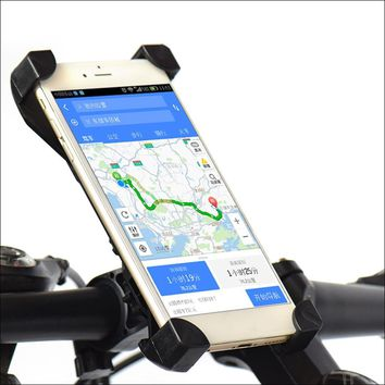 Bicycle and Motorcycle Phone Holder Handlebar Clip Stand Mount Bracket