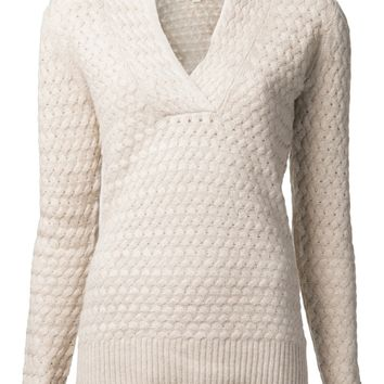 Kinross Cashmere Knit Sweater