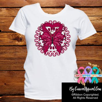 Multiple Myeloma Stunning Butterfly Shirts