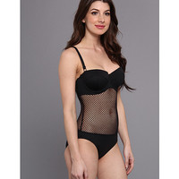 Seafolly Net Effect D Cup Bustier Maillot