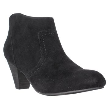 XOXO Aldenson Western Ankle Booties, Black, 6 US / 36.5 EU