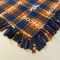Denver Broncos Fleece Throw