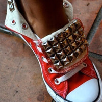 Studded Converse Allstars Chuck Taylors Any by LoveChuckTaylors