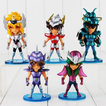 10cm Mini Saint Seiya PVC Action Figures Collection