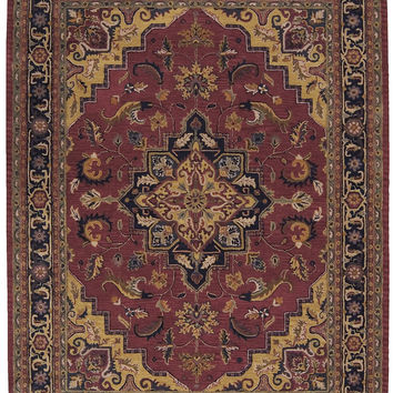 Nourison India House Rust Area Rug IH02 RUS (Rectangle)