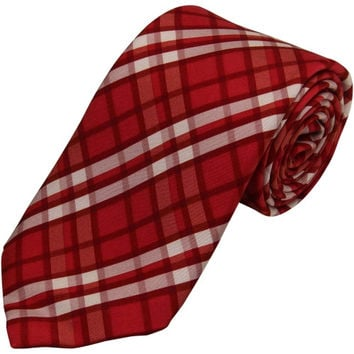 Vineyard Vines Indiana Hoosiers Student-Designed Plaid Tie - Crimson