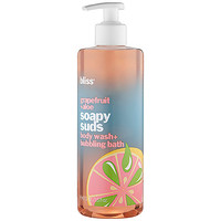 Sephora: Bliss : Grapefruit+Aloe Soapy Suds Body Wash + Bubbling Bath : body-wash-shower-gel