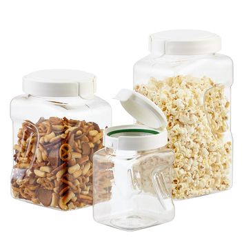 Set of Square Snapware Containers