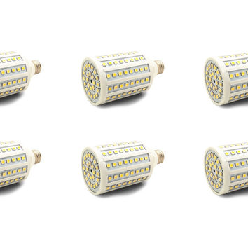 120x 5050 28W LED DC Light Bulb Solar Battery Bank Lamp 1920 LM E27 BC B22 - 6 Pack