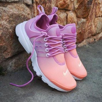 PEAPNW6 Sale Nike Air Presto Ultra BR Wmns Sunset Glow Sport Shoes Running Shoes - 896277-800