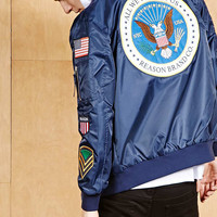 Reason Patch Bomber Jacket