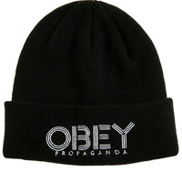 The Freestyle Beanie in Black