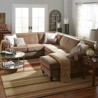 Build You Own Carmen Sectional - Toasted Pecan