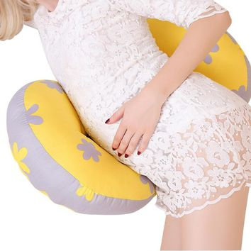 Multi-function Pregnancy Pillow Belly Waist Stomach Sleeper Support Pregnant Women U Shape Maternity Side Sleeping Pillow