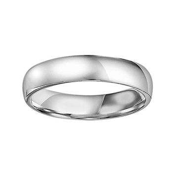 Cherish Always Platinum Wedding Ring (Grey)