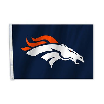 Denver Broncos Official NFL All Pro 2x3 Flag