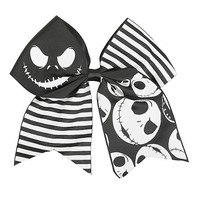 The Nightmare Before Christmas Striped Cheer Hair Bow