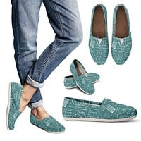 Calculus Pattern Casual Shoes