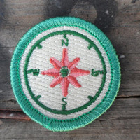 EXPLORER Compass Badge