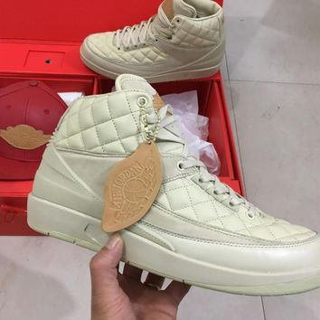 Don C x Air Jordan 2 ?¡ãBeach?¡À Men Basketball Shoes