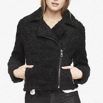 SHERPA MOTO JACKET from EXPRESS