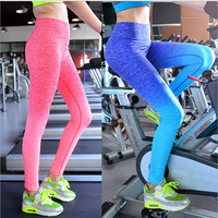 Leggings Sports Slim Pants Legging Workout Sport Fitness Girls Bodybuilding And Running Gym Clothes