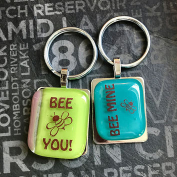 Bee Key Rings by Design4Soul