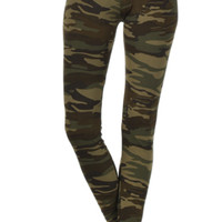 Undercover Beauty Camo Print Leggings