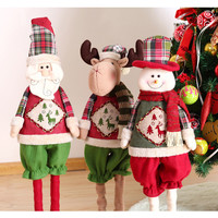 Special Santa Claus Snow Man Reindeer Doll Christmas Decoration Christmas Tree Hanging Ornaments Pendant Christmas Gift [9601067087]