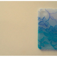Ombre Iphone Lace Case in Mermaid
