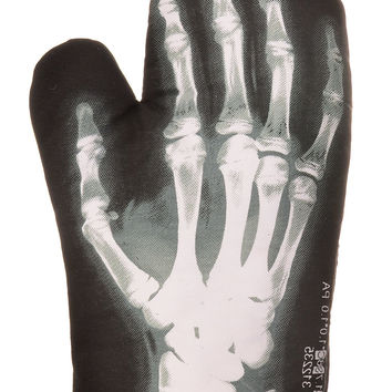 X-Ray Anatomy Skeletal Oven Mitt