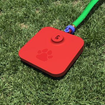 Pawcet Outdoor Dog Water Fountain With Hose Attachments
