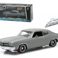"Dom's 1970 Chevrolet Chevelle SS ""Fast and Furious"" Movie (2009) 1-43 Diecast Model Car by Greenlight"