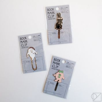 Mark's Monster Bookmark Clips