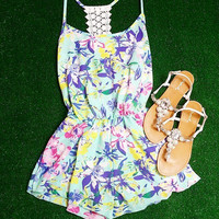 FIJI ROMPER IN MINT