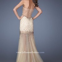 La Femme 19695 at Prom Dress Shop