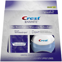 3D White Whitestrips with Light - Teeth Whitening Kit