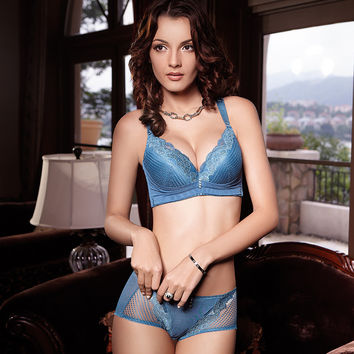 Adjustable Bra Sexy Lace Cup Underwear [6050378113]