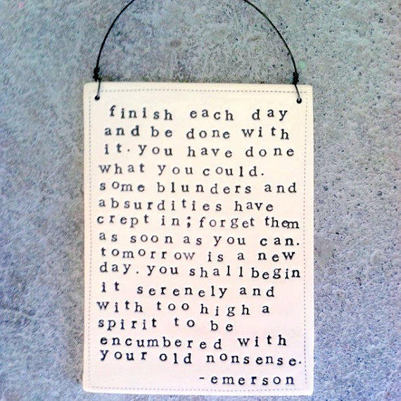 $40.00 plaque be done with it quote by emerson by mbartstudios on Etsy