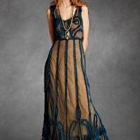 Indigo Mist Dress in the SHOP Attire Dresses at BHLDN
