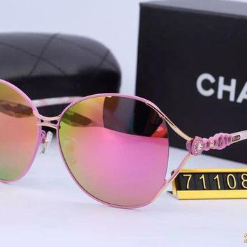 DCCKU62 Original Chanel Fashion New Design Sunglasses 71109 - 111