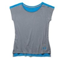 Under Armour Girls' UA Studio Sport Charged Cotton Tri-Blend T-Shirt