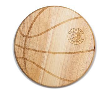 Toronto Raptors - 'Free Throw' Basketball Cutting Board & Serving Tray by Picnic Time