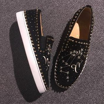 Cl Christian Louboutin Flat Style #759