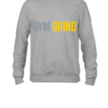 gym grind - Crewneck Sweatshirt