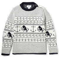 Thom Browne - Fair Isle Cotton Sweater | MR PORTER