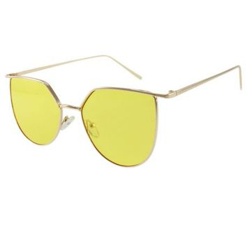 The Alton Sunglasses in Yellow