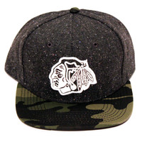Chicago Blackhawks Powder Snapback