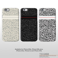 iPhone Yeezy boost sneaker phone case. Kanye West sneaker print hard case for iPhone 6 iPhone 5 iPhone 4 T335